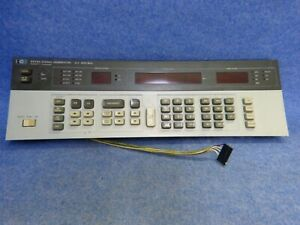 Hp 8656a Signal Generator 0 1 990 Mhz Front Panel