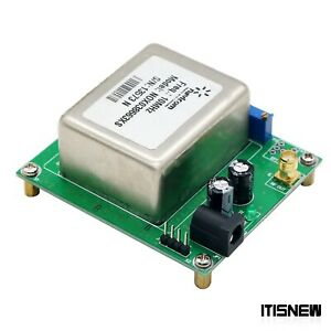10mhz 7dbm Ocxo Crystal Oscillator Frequency Reference With Board 12v 1 5a New