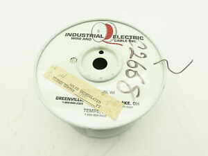 Industrial Electric 14 Ga Solid Uninsulated Tinned Coper Wire Partial 1000 Roll