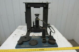 Load Cell Verification calibration Tool Details Fixtures Air Over Oil Hydraulic