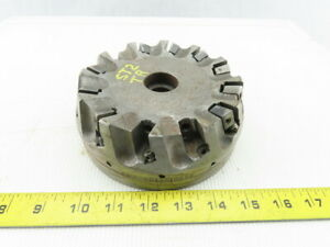 Dijet Smc 6012 10876 6 Indexable Face Mill Cutter 1 1 2 Arbor 12 Flute