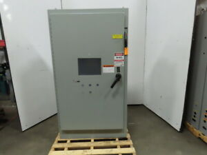 Hoffman A72xm4018ftc Electrical Enclosure W Disconnect Back Plate 72 x40 x18