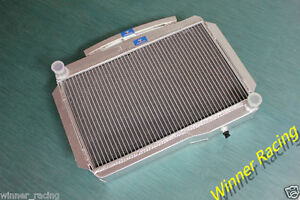 Aluminum Radiator For Mg Mga 1600 Twin Cam Mt 1958 1960 High Performance 56mm