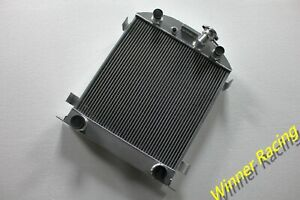 3 Chopped Radiator For Ford Cars Model A With 1932 Grill flathead Engine 30 32