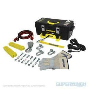 Superwinch Winch2go 12v Portable Winch 4000 Lb Capacity With 50 Steel Rope