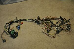 1969 Ford Mustang Mercury Cougar Under Dash Wiring Harness Non Tach No A C