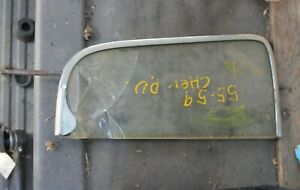 1955 1956 1957 Chevy Deluxe Truck Vent Window Frame Br