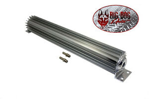 18 Finned Aluminum Single Pass Transmission Cooler Free Shipping