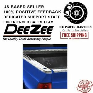 Dee Zee For Gmc Brite Tread Side Bed Wrap Caps With Stake Holes Dz11972