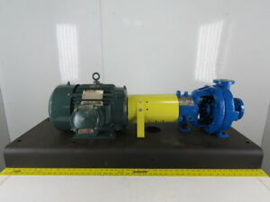 Durco 7 5hp 1 1 2 x1 Stainless Steel Centrifugal Pump Package 230 460v
