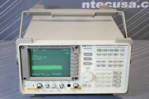 Hp 8560e 002 007 008 Portable Spectrum Analyzer 30 Hz To 2 9 Ghz calibrated