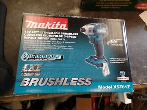 Makita 18v 1 4 In Oil impulse Brushless Cordless 3 speed Impact Driver Tool only