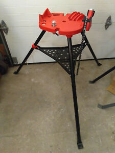 New Bmc Tools 460 Tripod Tristand 1 8 6 Pipe Chain Vise