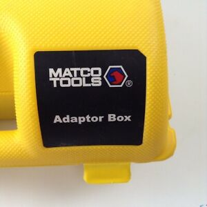 Matco Tools Adaptor Box With Adaptors For A Max 2 0 Tablet Diagnostic Scanner