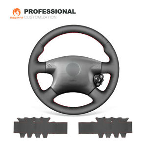 Genuine Leather Car Steering Wheel Cover For Nissan Almera N16 X Trail T30