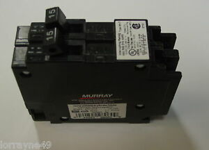 Murray Crouse hinds Mp1520 Circuit Breaker 15a 20a 1p New