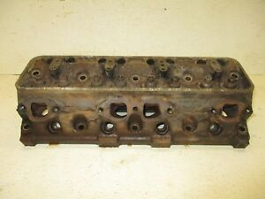 60 61 62 Ford Car Galaxie Mercury Edsel 292 Y Block Engine Motor Cylinder Head