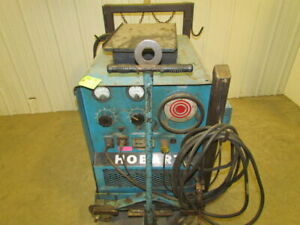 Hobart Rc 200 200 Amp 3 Phase Welder With Cart Wire Feed Platform