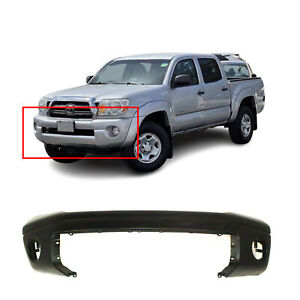 Primed Front Bumper Cover For 2007 2013 Toyota Tundra Pickup W O Park Assist