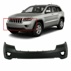 Primed Front Bumper Cover Fascia For 2011 2013 Jeep Grand Cherokee 11 13