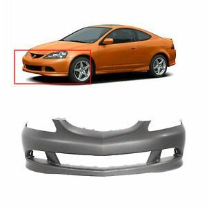 Primed Front Bumper Cover For 2005 2006 Acura Rsx Coupe Ac1000154 04711s6ma91zz