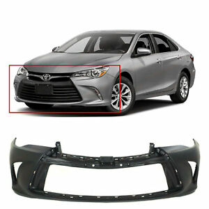 Primed Front Bumper Cover Fascia For 2015 2016 2017 Toyota Camry 15 16 17