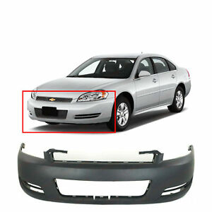 Primed Front Bumper Cover Replacement For 2006 2013 Chevrolet Impala Gm1000763