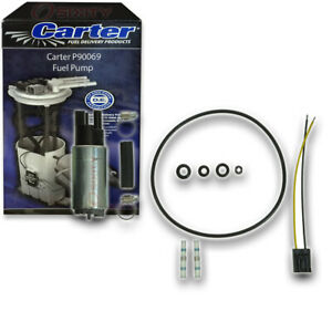 Carter P90069 Fuel Pump Electric Inline Pressure Transfer Gas Diesel Vx
