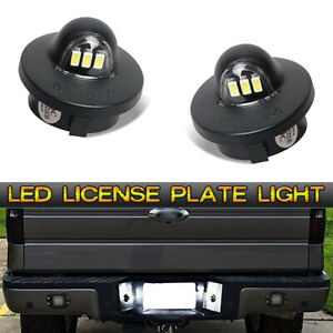 Led License Plate Rear Bumper Tag Light For 01 14 Ford F 150 Raptor Truck Pickup