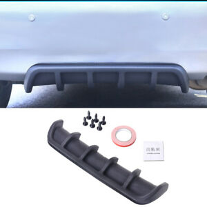 Shark Fin 6 Wing Diffuser Chassis Rear Bumper Lip 26 x5 Abs Universal