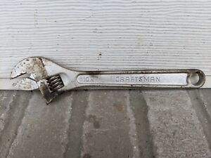 Vintage 10 250mm Craftsman Adjustable Wrench 944604 Exc Cond Fast Freeship