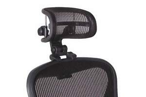 The Original Headrest For The Herman Miller Aeron Chair By Engineered Now
