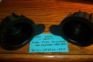 Oem Cup Holder Insert Ford F150 Expedition Explorer Sport Trac Mustang Pair