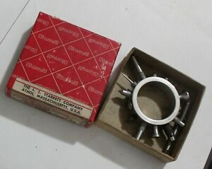 Vintage Starrett 25r Dial Indicator Contact Points With Box