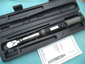 Snap On 3 8 Dr Electronic Torque Wrench Atech2fr100 5 100 Ft Lb W Case X Lnt