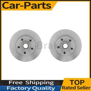 Fits Ford Granada 2x Raybestos Brakes Front Disc Brake Rotor And Hub Assembly