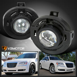 For 2011 2014 Chrysler 200 300 Dodge Avenger Projector Fog Lights Lamps switch