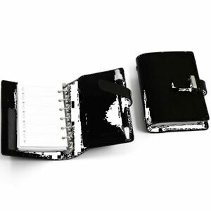 Bey Berk Black Leather Agenda Book With Ball Point Pen