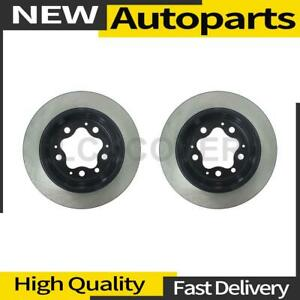 2x Disc Brake Rotor Rear Centric Parts For 1964 1965 Porsche 356c