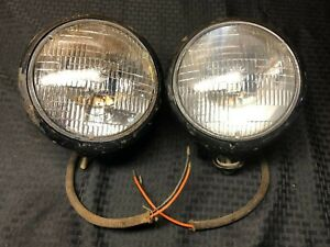 Vintage Matched Pair Guide 903 j Headlights Hot Rod Traditional 1932 Ford Scta