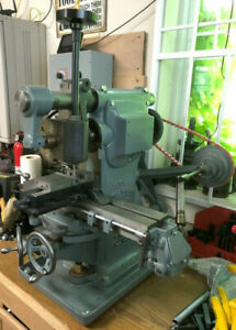 Awesome Burke 4 Milling Machine W vertical Milling And Vfd