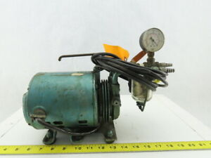 Electric Vacuum Pump 115v 1ph Pulls 20 Vac 1 6hp