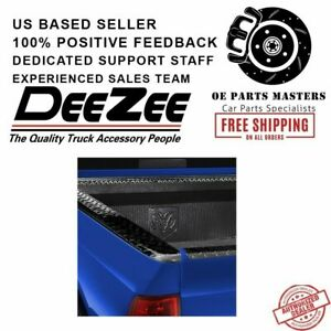 Dee Zee For Gmc Black Tread Side Bed Wrap Caps With Stake Holes Dz11972b