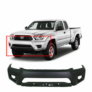 Primed Front Bumper Cover For 2012 2015 Toyota Tacoma Pickup 5211904090