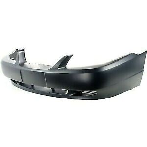 Primed Front Bumper Cover For 1999 2004 Ford Mustang Yr3z17d957ea Fo1000437