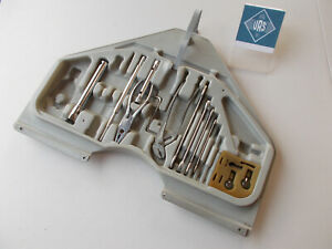 89 Bmw 635csi E24 Large Rear Trunk Mounted Tool Kit Holder W Tools Be24305