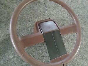 Daytona Steering Wheel 1985 1986 Dodge 600 Turbo Package Burgundy Tilt Column