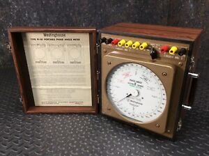 Westinghouse Pi 161 Phase Angle Meter