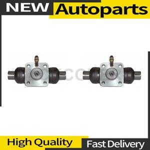 2x Drum Brake Wheel Cylinder Rear Centric Parts For 1955 1955 Porsche 356