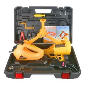 12v 3t 42cm Car Hydraulic Electric Floor Jack And Impact Wrench For Suv Off Road